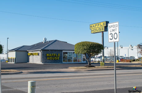 Waffle House in Bedford Texas