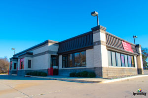 Closed Wendy's Restaurant in Fort Worth Texas