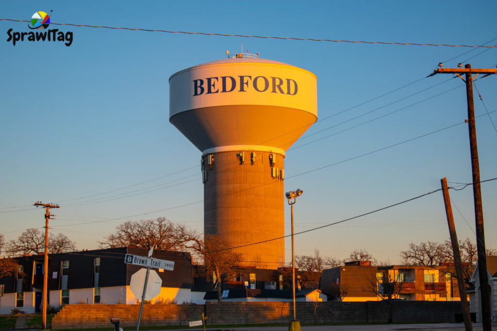 Bedford Water Tank