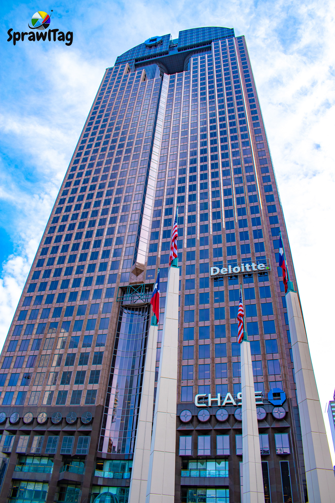 Chase Tower In Dallas Texas Sprawltag Com