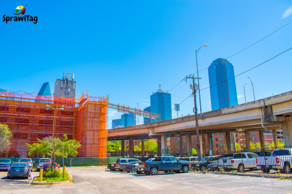 Brewery building in Dallas