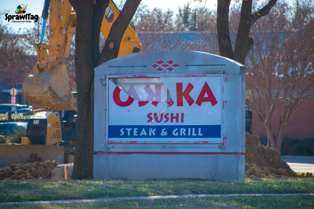 Old Osaka Sign In Plano Texas