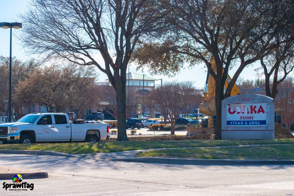 New Chili's Construction in Plano Texas