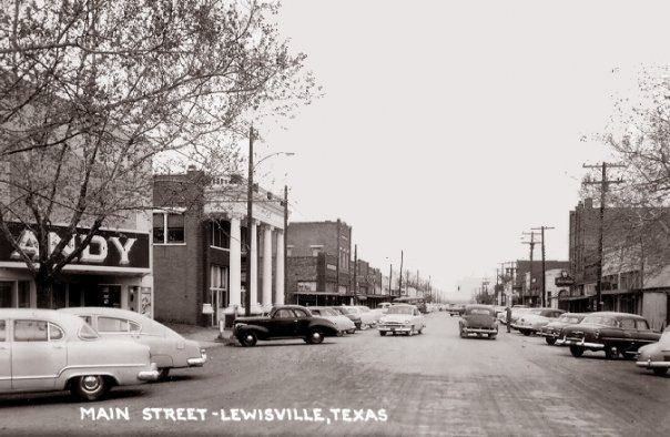 Main Street in Lewisville