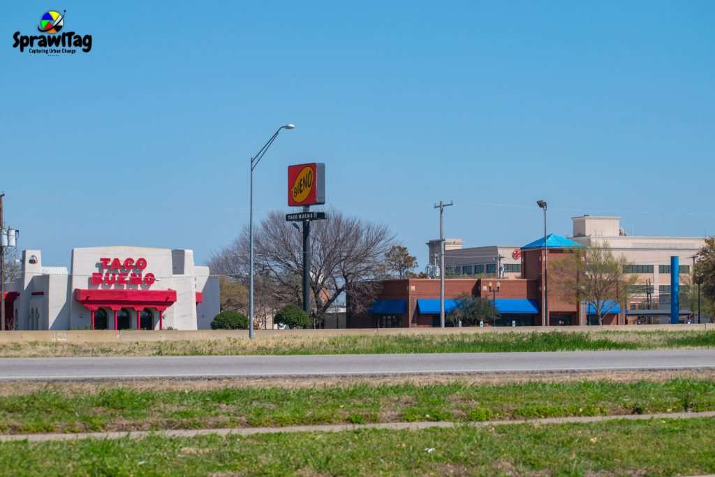 Closed I-Hop and Taco Bueno in Lewisville Texas