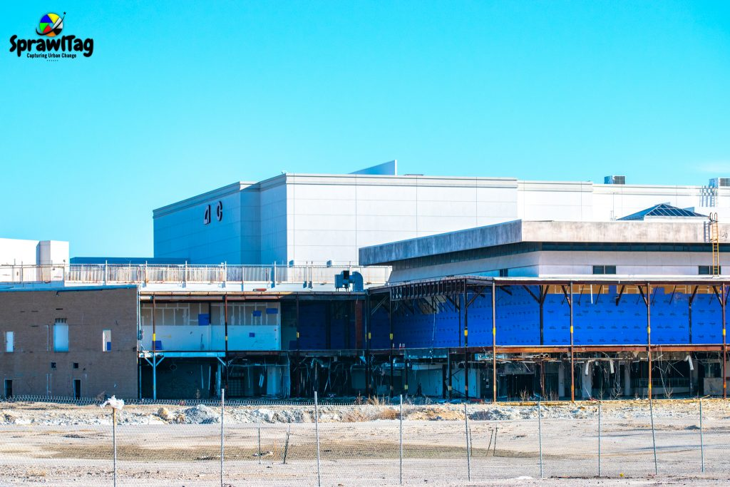 What's left of Valley View Mall