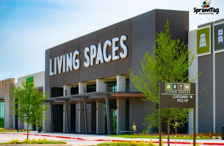 Fort Worth Living Spaces Entrance