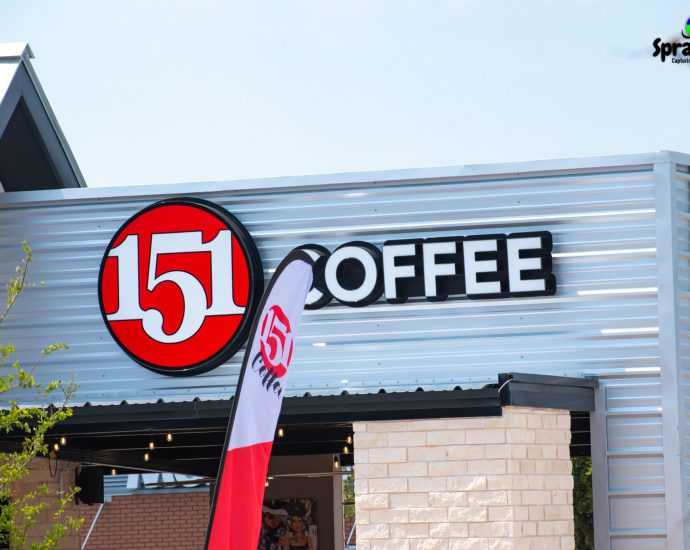 New 151 Coffee in Coppell Texas