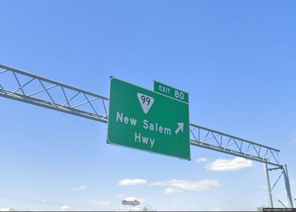 Murfreesboro's Costco exit on Interstate 24