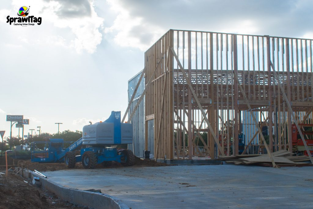 Chick-fil-A In Bedford under construction