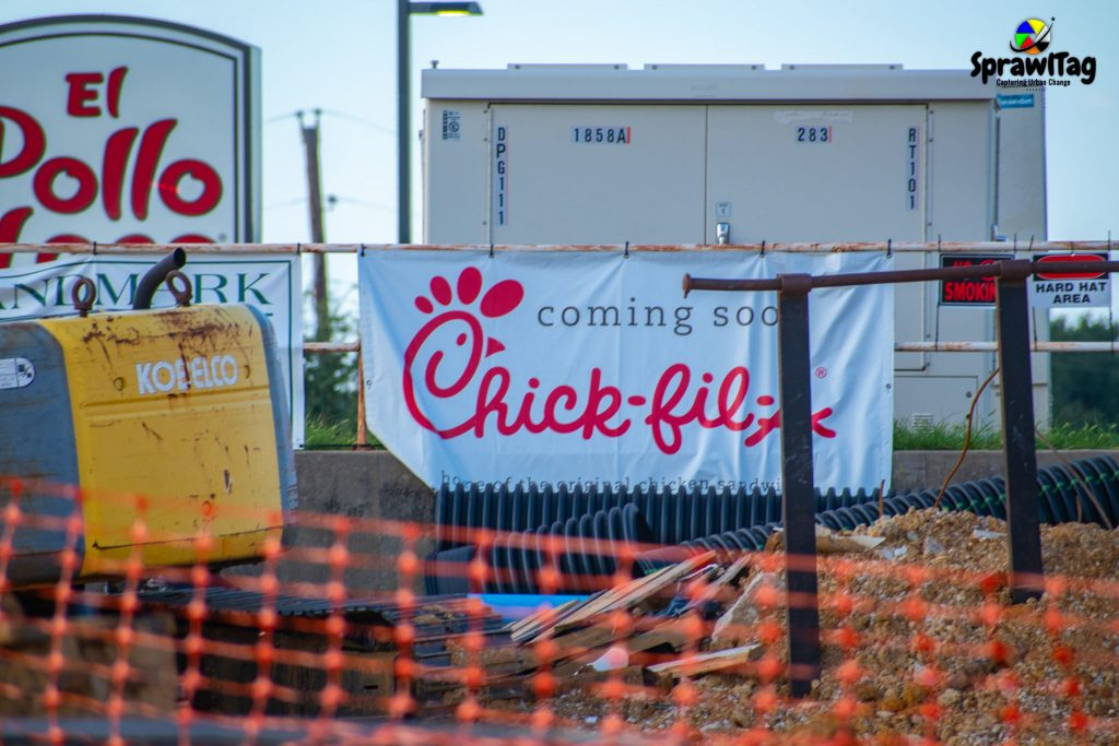 Bedford Chick-fil-A coming soon sign