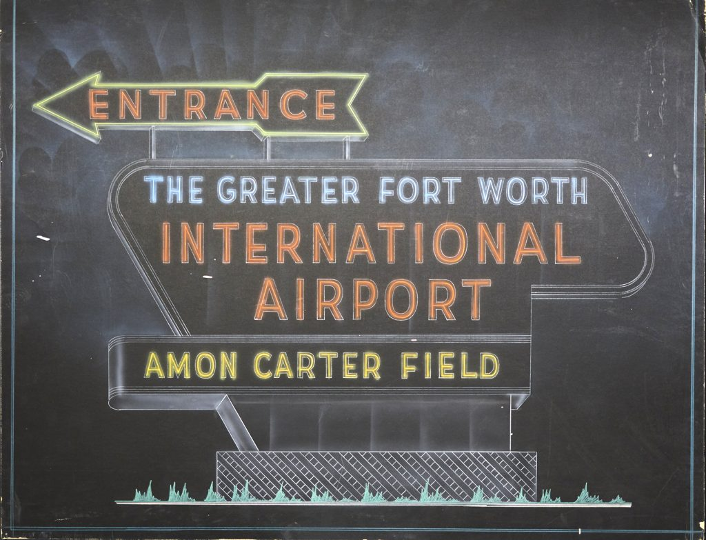 Amon Carter Field entrance